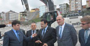 Trabzon Pelitli'de kentsel dönüşüm başladı!