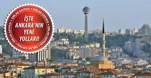 Ankara'da yol seferberliği; 6 yeni bulvar geliyor!