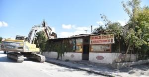 Ankara Altındağ'da dönüşüm yıkım çalışmaları ile devam ediyor!