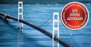 Çanakkale Boğaz Köprüsü otoyolu nereden geçecek?
