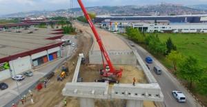 Kocaeli Outlet Köprüsü Bayram'a kadar araç trafiğine açılacak!