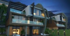 Tepe Modern Villaları Alanya'da yükseliyor!