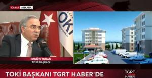 Turan, ''13 yılda 738 bin konut ürettik''!