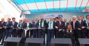 Bursa'da 1 milyar 103 milyon 442 bin 293 TL'lik yatırım hizmete açıldı!