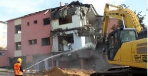Kartal kentsel dönüşüm kapsamında bir yıkım daha!
