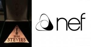 Nef'e Stevie Awards'tan bir ödül daha!