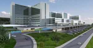 71 bin hasta kapasiteli Bayraklı Şehir Hastanesi'nin yapımı hızla sürüyor!