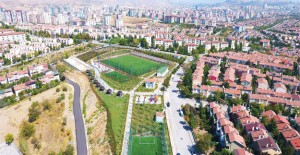 Başkent'e modern spor ve park alanı!