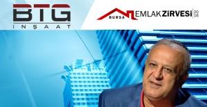 Bursa Emlak Zirvesi'nin ana sponsoru BTG İnşaat oldu!
