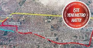Bursa#039;ya yeni metro hattı geliyor!İşte...