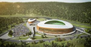 Giresun Çotanak Arena Stadyumu'nun temeli atıldı!