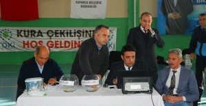 Sakarya Sapanca'da 110 TOKİ konutunun hak sahibi belirlendi!