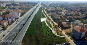 Şereflikoçhisar'ın en büyük parkı Ankara Büyükşehir'den!