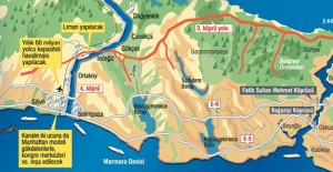 'Kanal İstanbul bölgesinde 7 kez el değiştiren tapu var'!