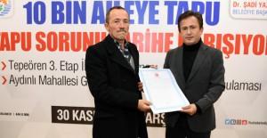 Tuzla'da, 10 bin aile daha tapu sahibi oldu!