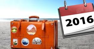 2016 resmi tatil günleri!