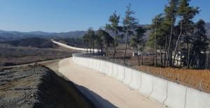 TOKİ Suriye sınır duvarının yüzde 50'sinitamamladı!