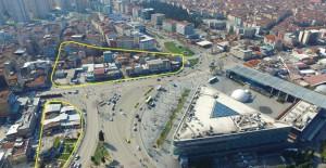Bursa Belediyesi Kent Meydanı'nda 2.etap dönüşüm çalışmalarına başladı!