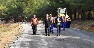 İzmir Büyükşehir Belediyesi asfalt çalışmalarını hızlandırdı!
