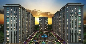 Metrohome Suites&Residence 1700 konut ve 130 mağazadan oluşuyor!