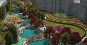Tabakhane Kentsel Dönüşüm Projesi'nin peyzaj çalışmaları devam ediyor!