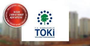 TOKİ'nin kurasız konut sattığı iller! 14 Mart 2017