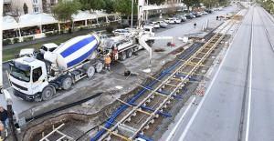 İzmir Konak Tramvayı'nda çalışmalar tüm hızıyla devam ediyor!