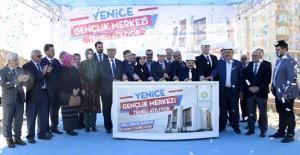 Konya Meram Yenice'de Gençlik Merkezi'nin temeli atıldı!