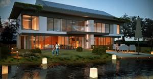 Iglo Architects Ömerli Park Evleri'nde su ile iç içe yaşamı tasarladı!