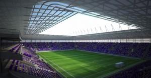 22 bin seyirci kapasiteli Eryaman Stadı çalışmaları hızla devam ediyor!