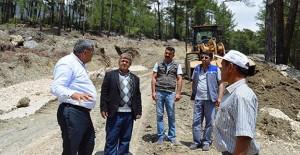 Antalya Belediyesi Günçalı ve Doğantaş mahallesinin yollarını yeniliyor!
