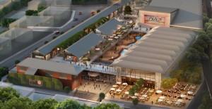 Arnavutköy 'Avlu34' alışveriş merkezi'nin temeli atıldı!