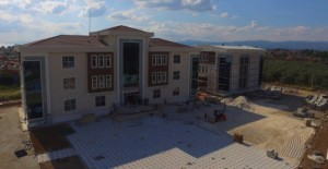 İznik Belediyesi Hizmet Binası ve Kültür Merkezi çalışmaları bitiyor!