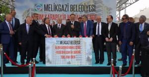 Melikgazi Kazımkarabekir Mahallesi'nde kentsel dönüşüm konutlarının temeli atıldı!