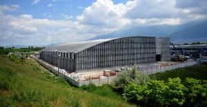 Osmangazi Atletizm Salonu'nun inşaatı bitiyor!