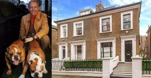 Patrick Cox Londra'daki lüks villasını satılığa çıkardı!