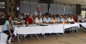 Bornova Evka-4 Yapı Kooperatif üyeleri 25 yıl sonra tapularına kavuştu!