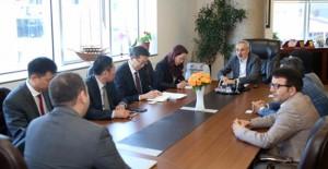 Faruk Aydın, Esenler kentsel dönüşüm projesini Çin'li yatırımcılara anlattı!