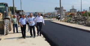 İnegöl Belediyesi altyapı çalışmalarına hızla devam ediyor!