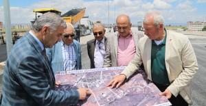 Kayseri Mimsin-TOKİ arsasına 6 şeritlik yol yapılıyor!