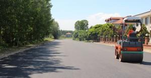 Sakarya Akyazı Yahyalı Mahallesi asfalt çalışmaları devam ediyor!