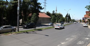 Sakarya Orhangazi Caddesi'nde yol yenileme çalışmaları devam ediyor!