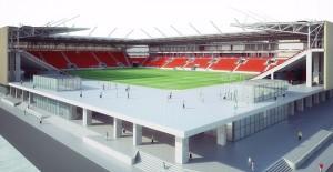 TOKİ İzmir Göztepe Stadyumunun ihalesini yaptı!