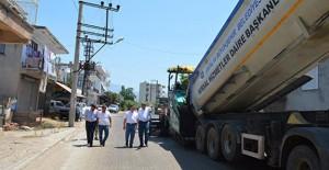 Antalya Kumluca Hacıveliler'de altyapı çalışmaları yapılıyor!
