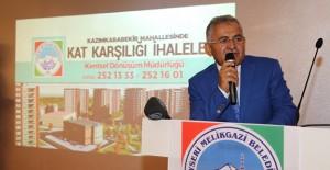 Başkan Büyükkılıç, Kazımkarabekir Mahallesi Kentsel Dönüşüm Projesi'ni tanıttı!