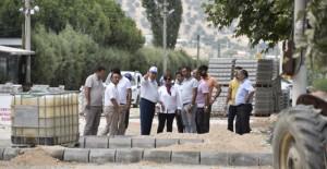 Başkan Çerçi 'Üçpınar, Demirci ve Muradiye Mahallesi'nde çalışmaları inceledi!