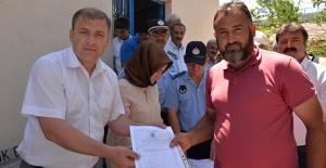 Bilecik Bozüyük İçköy'de tapular dağıtıldı!