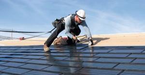 bBinalarda çatı üstü güneş paneli.../b