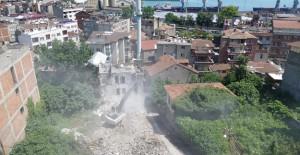 Çömlekçi 2. Etap Kentsel Dönüşüm projesinde yıkım çalışmaları başladı!