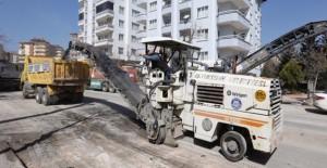 Gaziantep Belediyesi eski asfaltları geri...